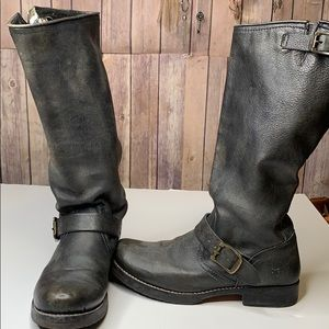 Frye Veronica pull on boots